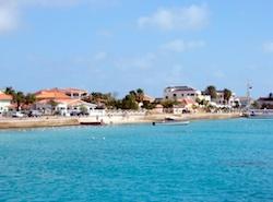 Kralendijk, Bonaire from Tahina's mooring