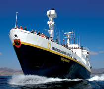 National Geographic Endeavour expedition ship
