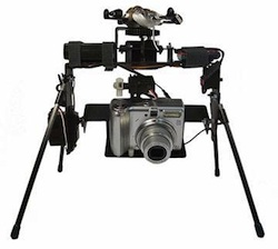 Kite Aerial Photography camera rig