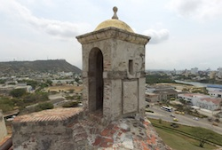San Felipe Lookout Tower, Cartagena, Colombia