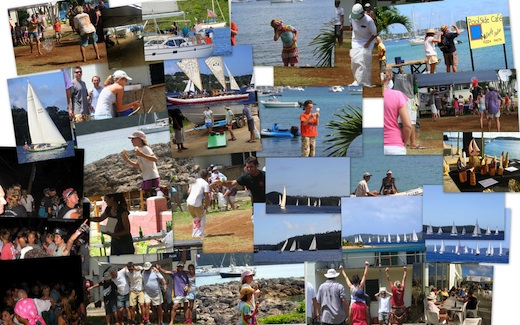 Collage of Regatta photos